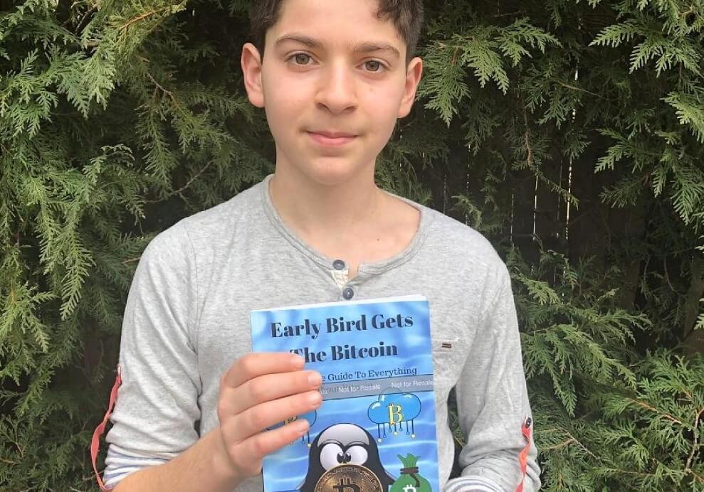 12 летний подросток из США выпустил книгу о биткоине