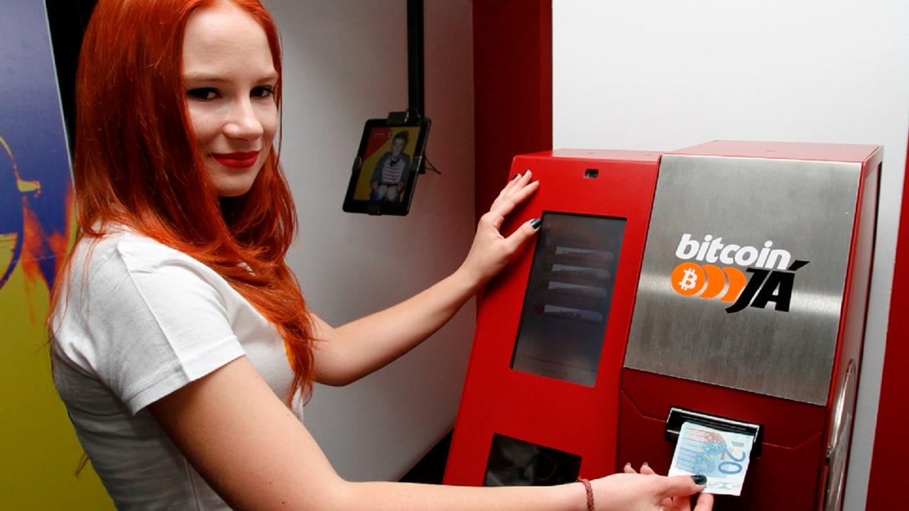 В Корее откроется сеть криптоматов Touch B