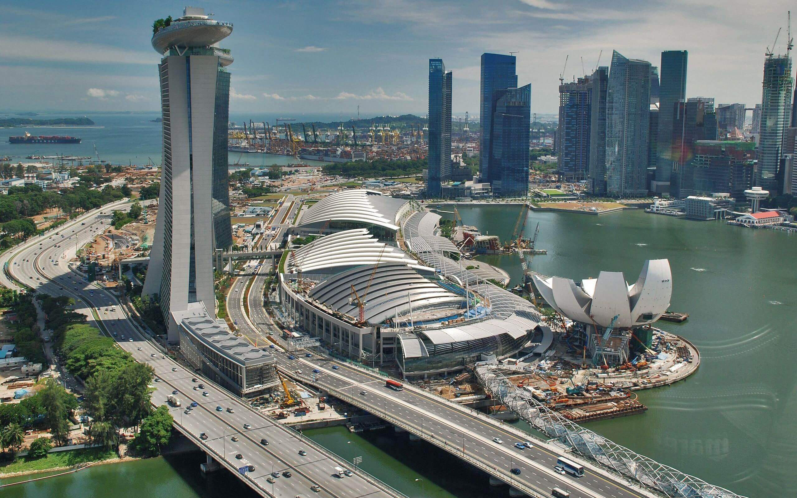 Сингапур развивает технологию распределенного реестра