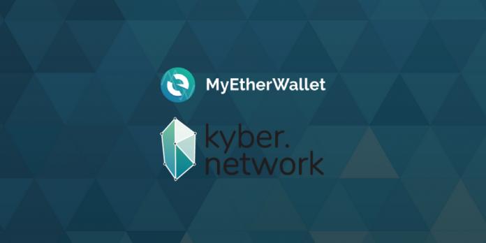MEW и Kyber Network запускают обменный сервис