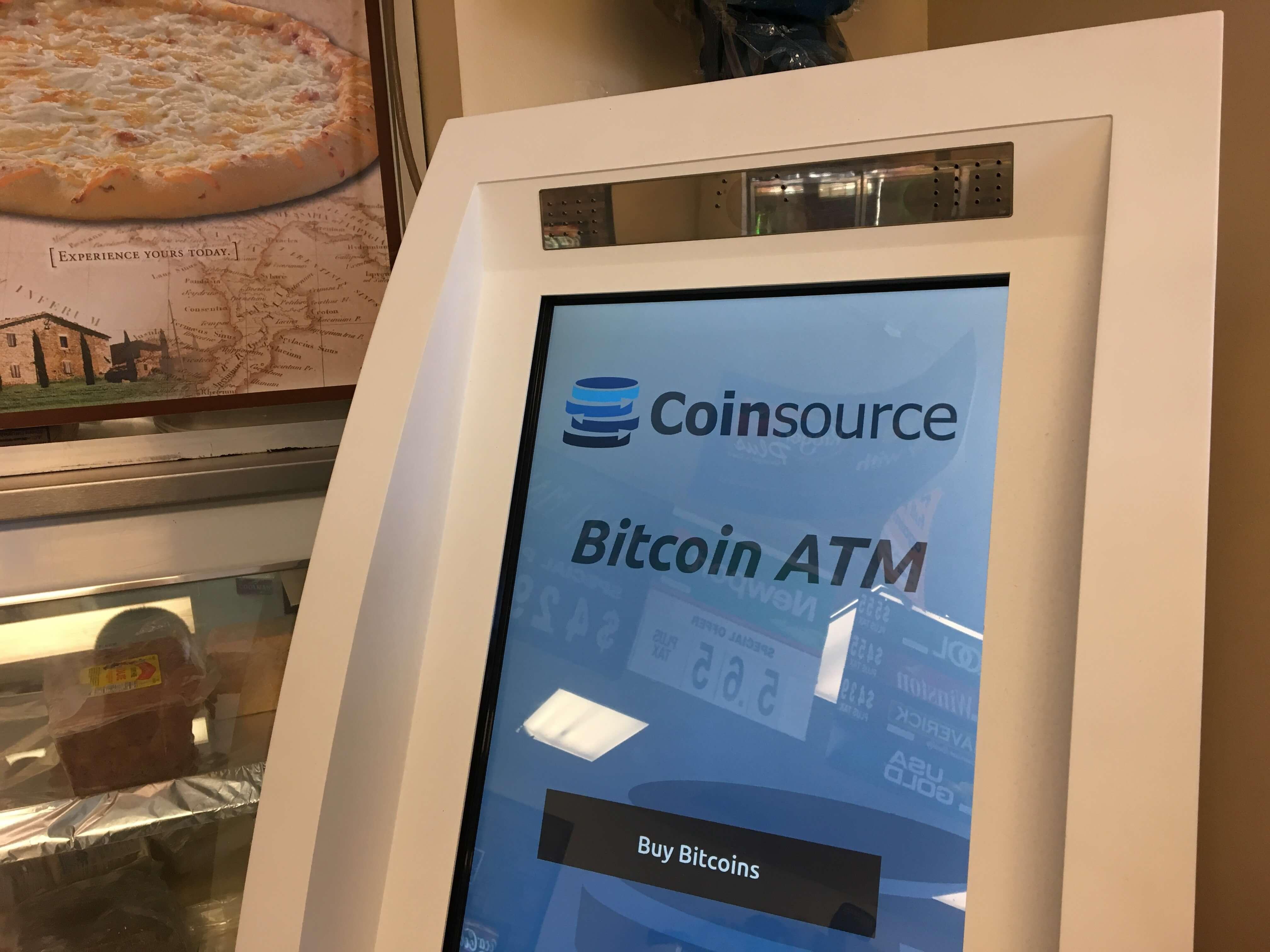 Банкоматы для цифровых денег в США