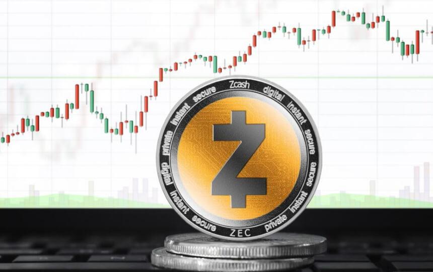 Цена на Zcash выросла на 50 процентов