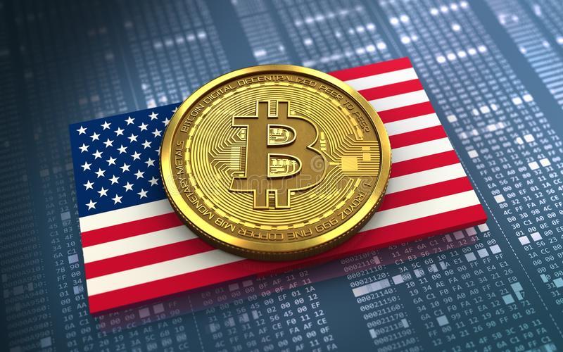 Биткоин шагает по США