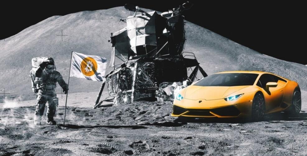 Маск и Безос отправят биткоин на Луну?