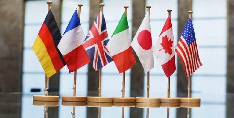 Криптовалюты и цифровые налоги включены в повестку G7
