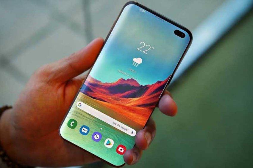 Samsung Galaxy S10 поддерживает криптовалюты