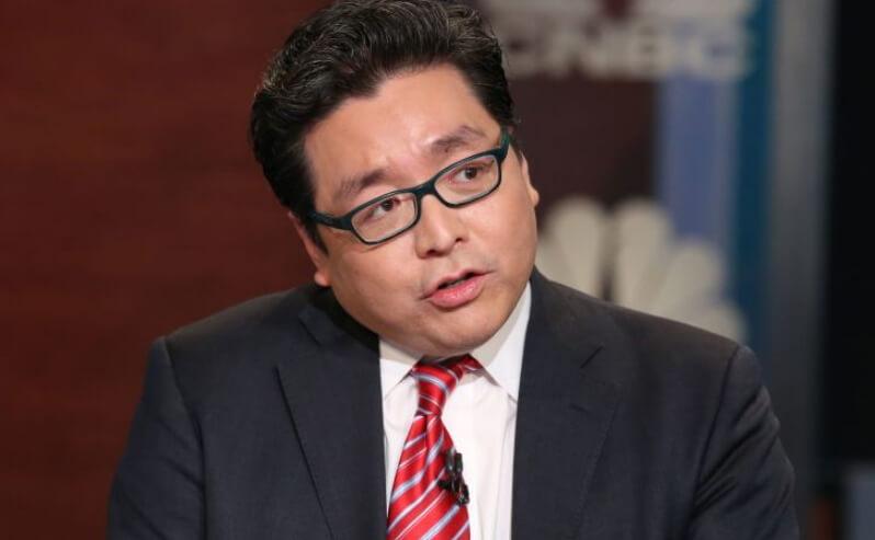 Том Ли видит рост биткоина