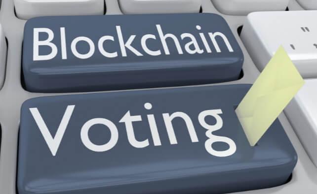 Штат Юта голосует на блокчейн платформе