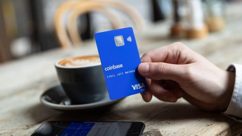 Coinbase расширяет криптовалютные услуги с дебетовой картой Visa