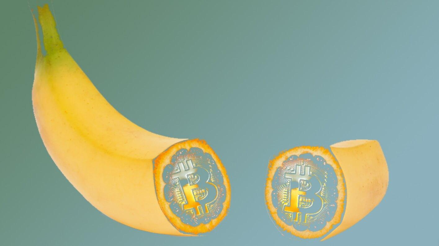 Банан, приклеенный скотчем к стене, воссоздан криптовалютным художником