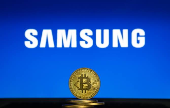 Флагманские смартфоны Samsung поддерживают биткоин и эфириум