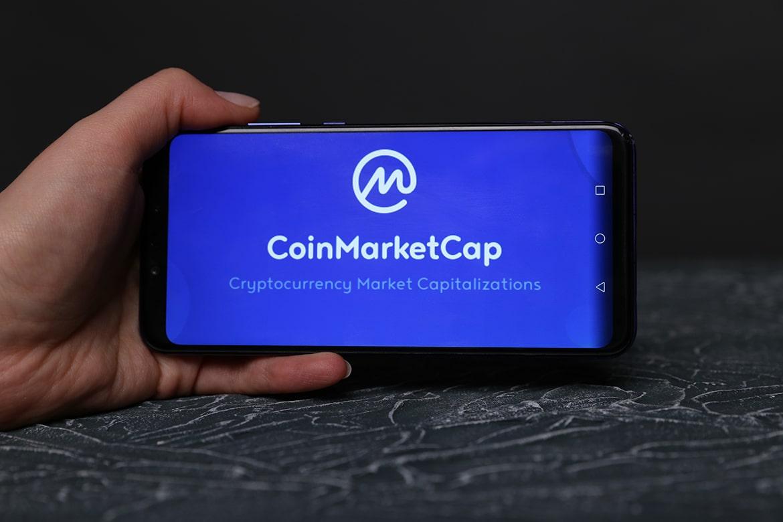 Обновление на CoinMarketCap