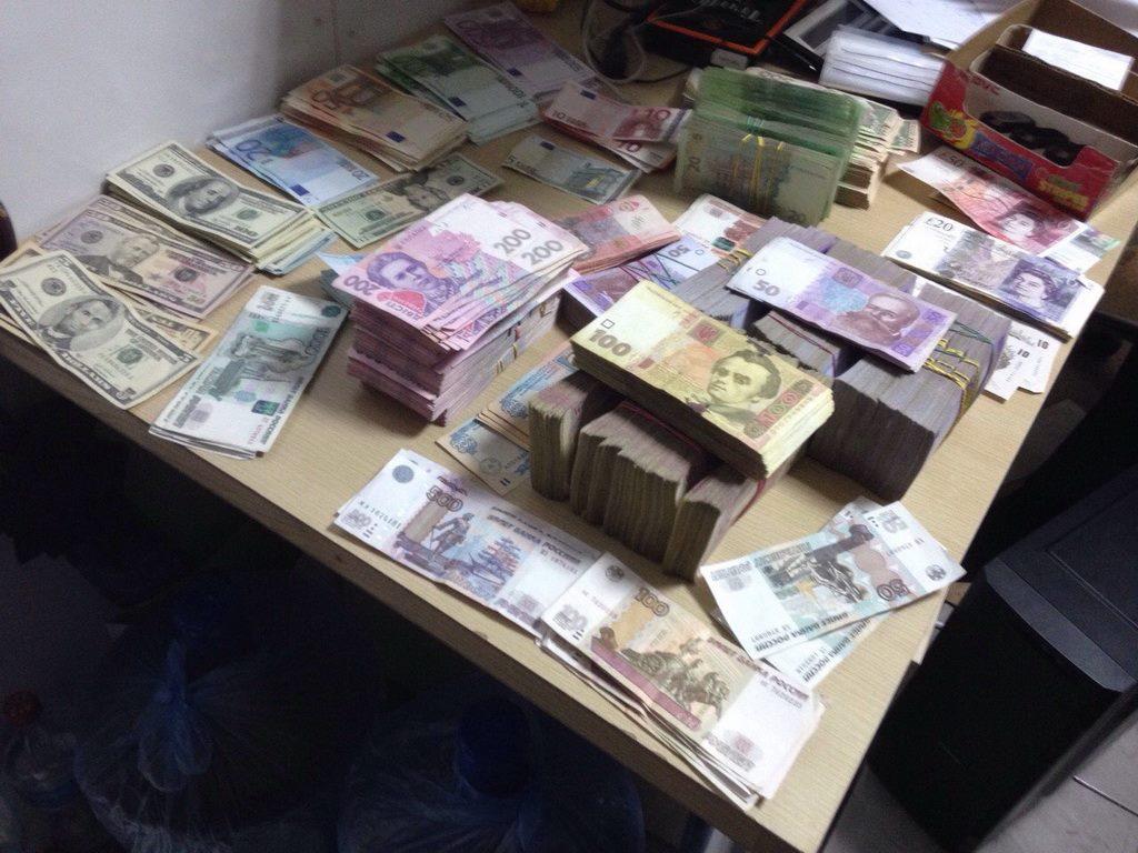 В Украине заблокировали подпольный обменник