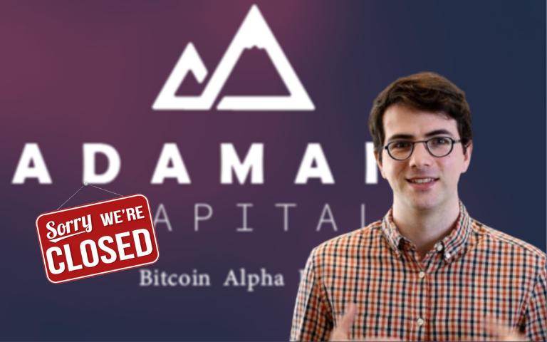 Закрылся BTC-фонд Adamant Capital