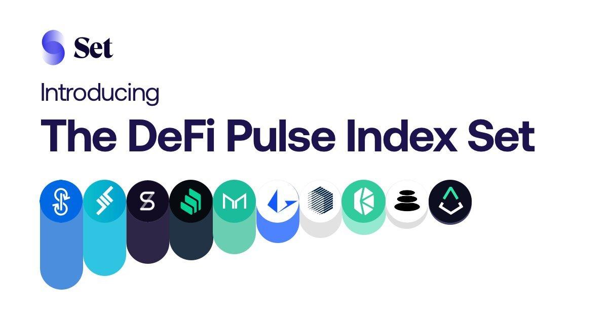 DeFi Pulse и Set Labs представили биржевой индекс DeFi