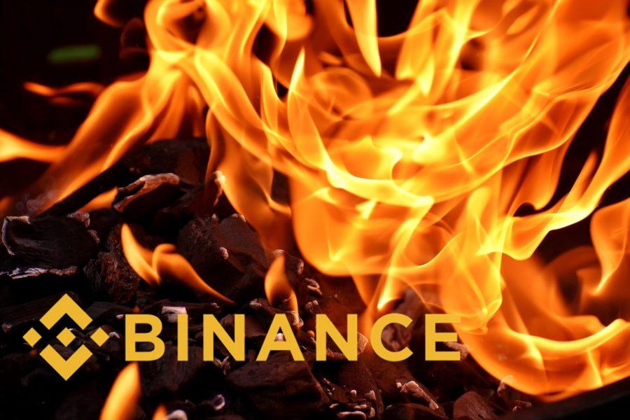 Binance провела массовое сжигание токенов BNB
