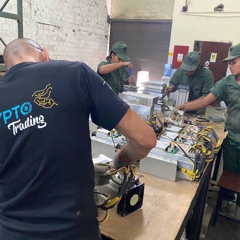 Армия Венесуэлы майнит криптовалют