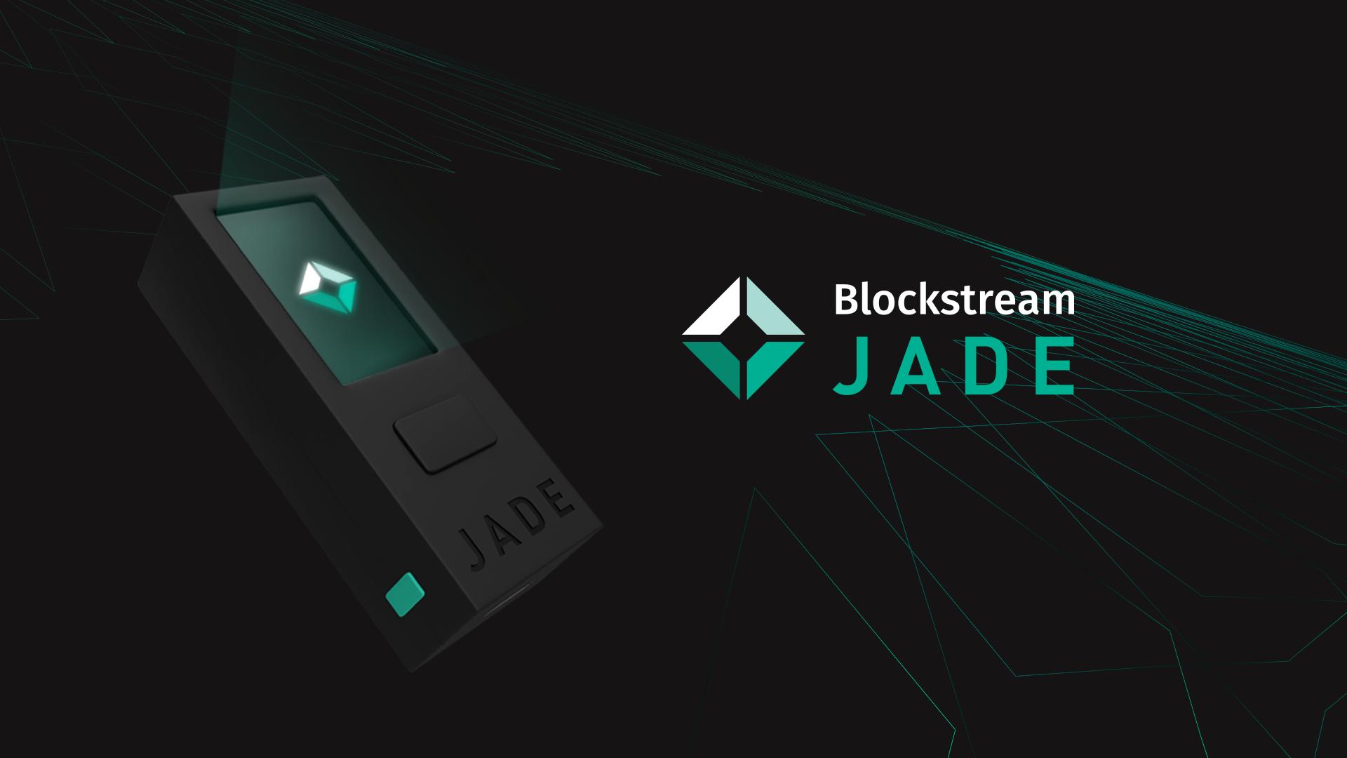 Аппаратный BTC-кошелек Jade от Blockstream