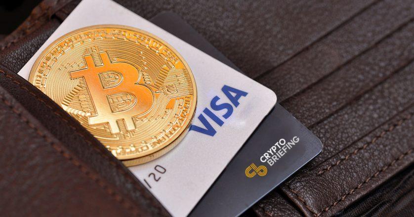 Visa сможет обрабатывать криптовалютные платежи