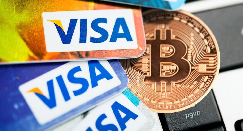 Компания Visa протестирует интеграцию BTC-платежей банками