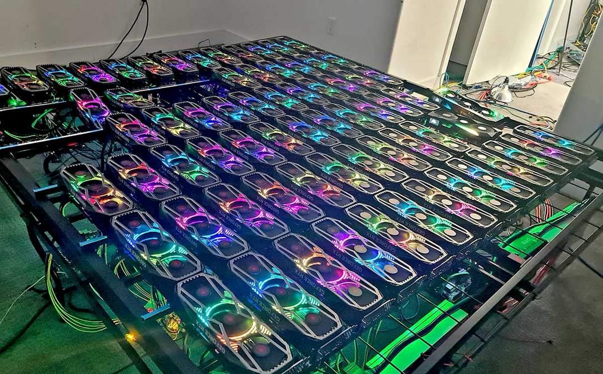 Nvidia продала графические процессоры для майнинга на $30 млн