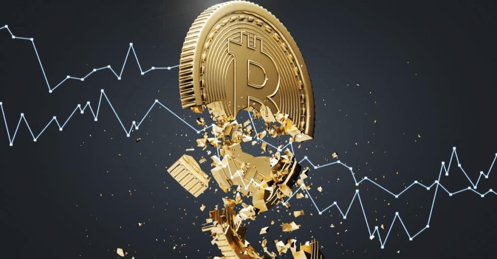 Почему цена биткоина может упасть до $18 000?