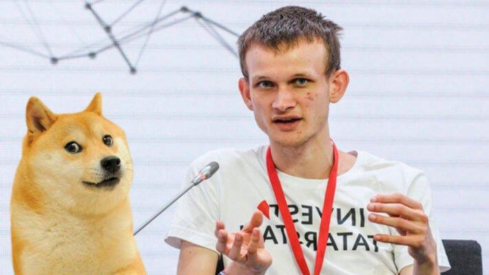 Бутерин и $4 млн на инвестициях в Dogecoin