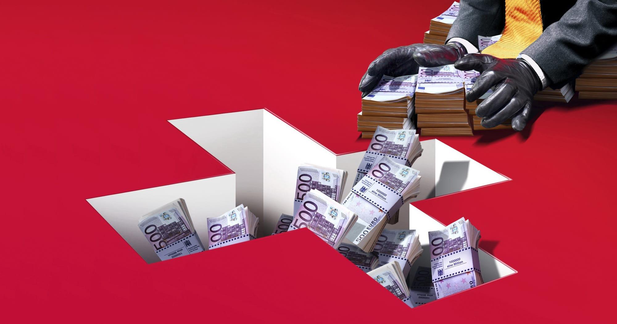 Объем незаконных транзакций в Китае резко сократился