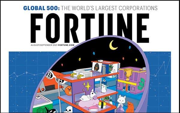 Журнал Fortune продал NFT-обложку за $1,3 млн