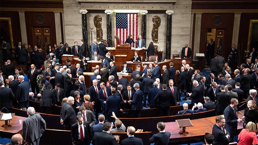 Сенат США провалил голосование за компромиссную поправку
