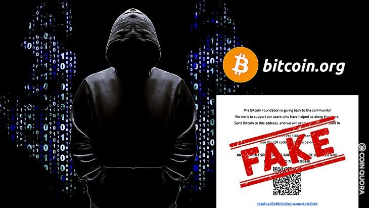Хакеры взломали Bitcoin.org c фейковой раздачей BTC